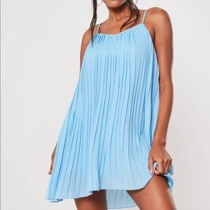 Missguided Blue Dress